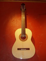 Engelmann Spruce top, Spanish Cypress back and sides