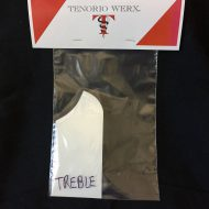 Tenorio Werx Tap Plate–Treble Side